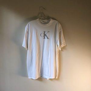 Calvin Klein 90s promo tee